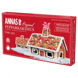 ANNAS Gingerbread House Имбирный домик