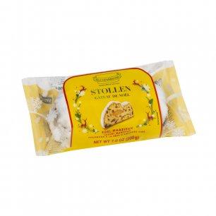 KuchenMiester Edelmarzipan Stollen Марципановый рождественский кекс 200г
