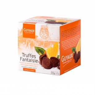 Truffes Fantaisie Французские трюфели с апельсиновым цукатом